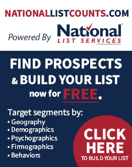 National List Counts - Build Your List for Free